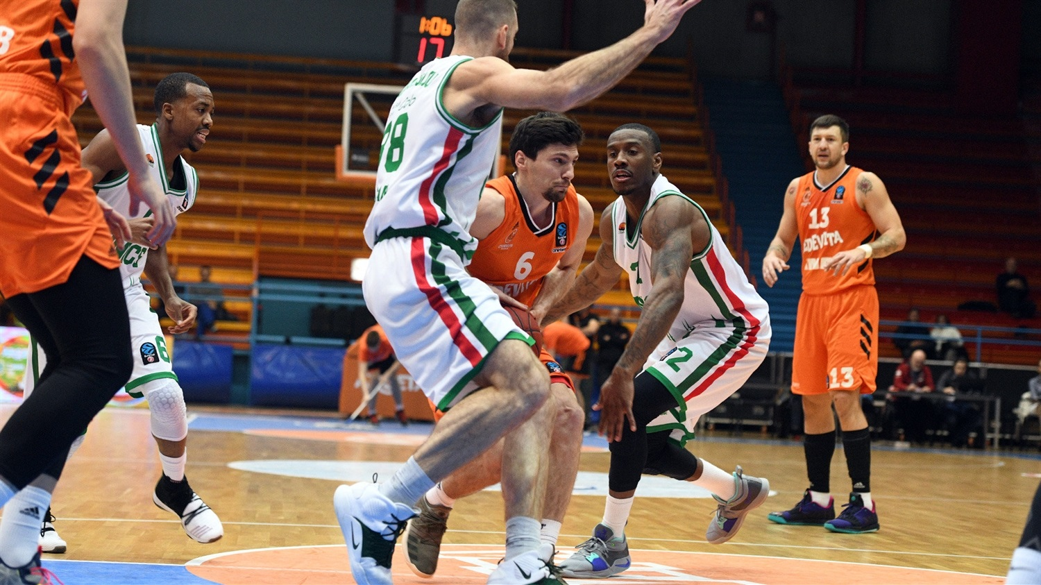 Toni Katic - Cedevita Zagreb (photo UNICS) - EC18
