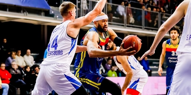 7DAYS EuroCup, Top 16 Round 4: MoraBanc Andorra vs. Zenit St Petersburg