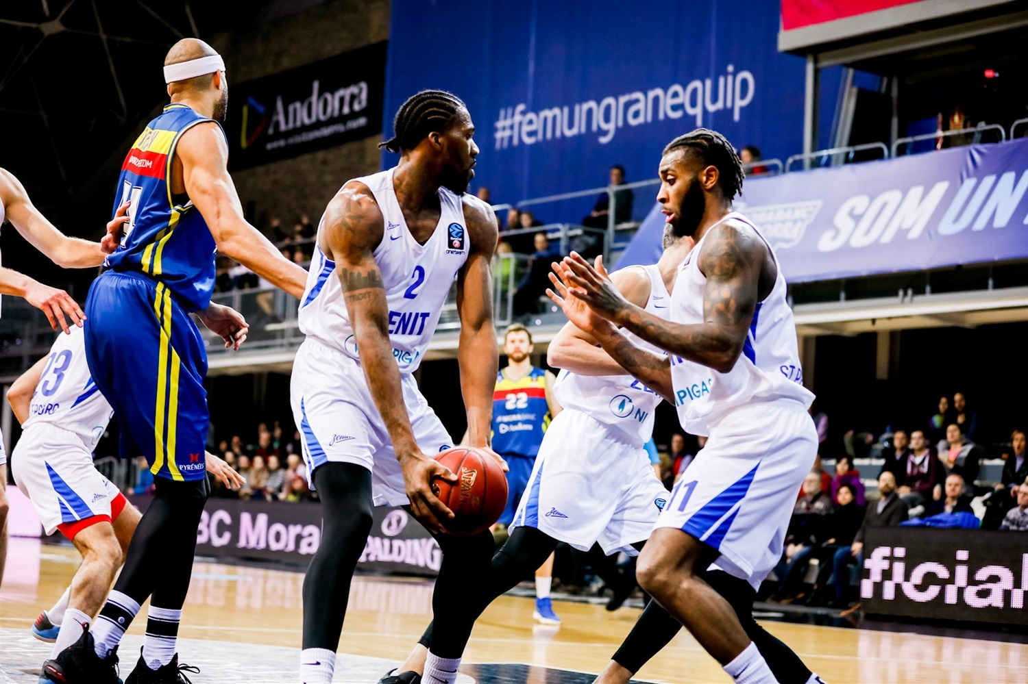Jalen Reynolds - Zenit St Petersburg (photo Marti Imatge - Andorra) - EC18