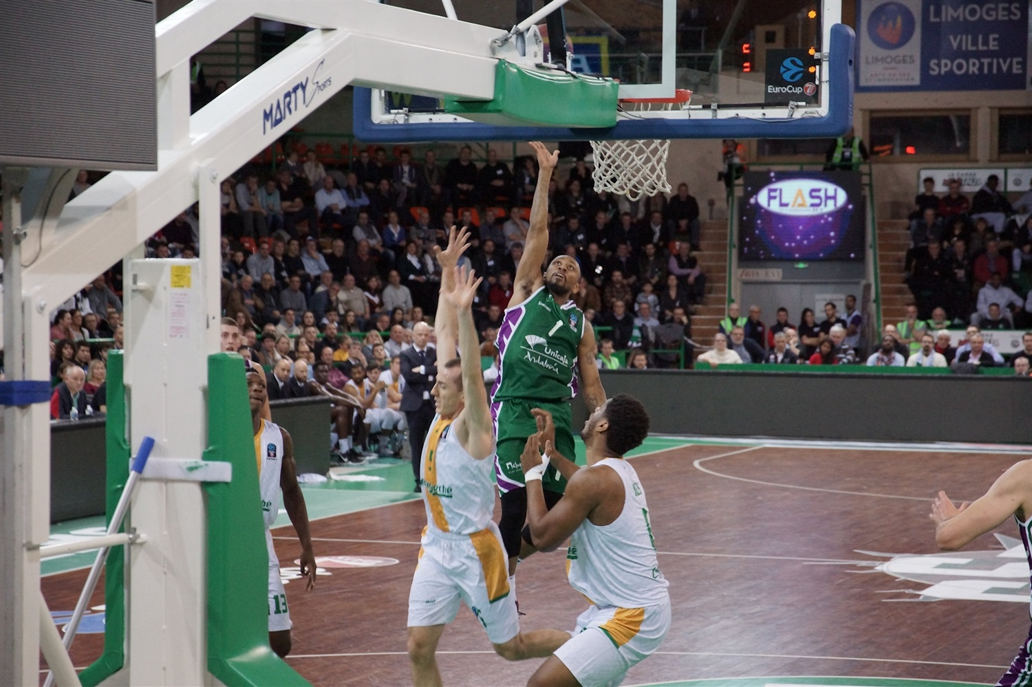 Ryan Boatright - Unicaja Malaga (photo Limoges) - EC18