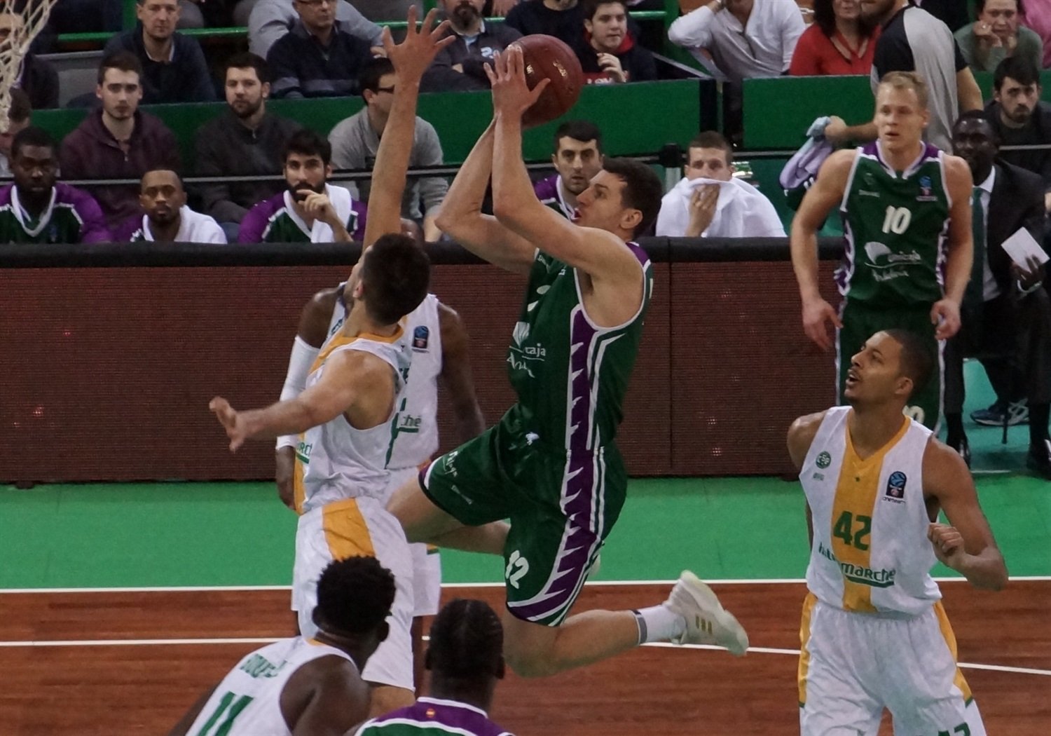 Dragan Milosavljevic - Unicaja Malaga (photo Limoges) - EC18