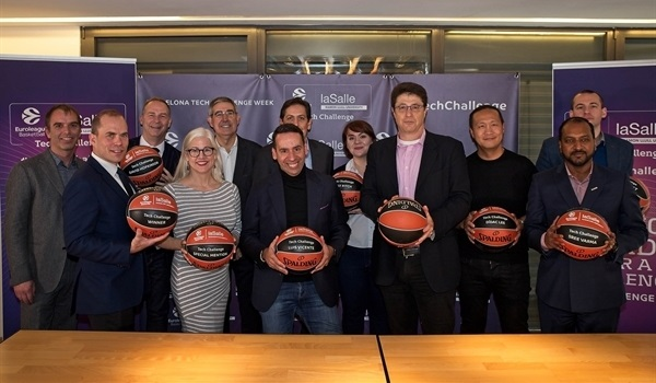 Euroleague Basketball, La Salle-URL present 2019 Tech Challenge winners
