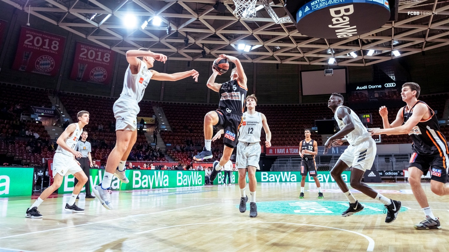 Zachary Ensminger - U18 ratiopharm Ulm - ANGT Munich 2019 (photo FCBB - Eirich) JT18