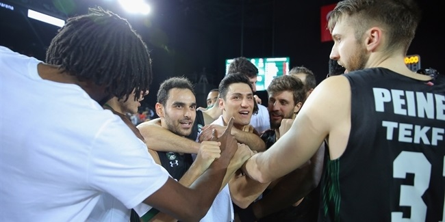 Proud Darussafaka sounded a playoffs spoiler alert