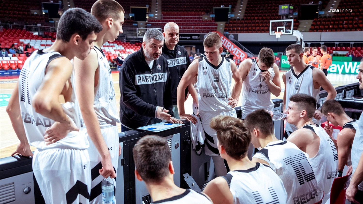 Team U18 Partizan NIS Belgrade - ANGT Munich 2019 (photo FCBB - Eirich) JT18