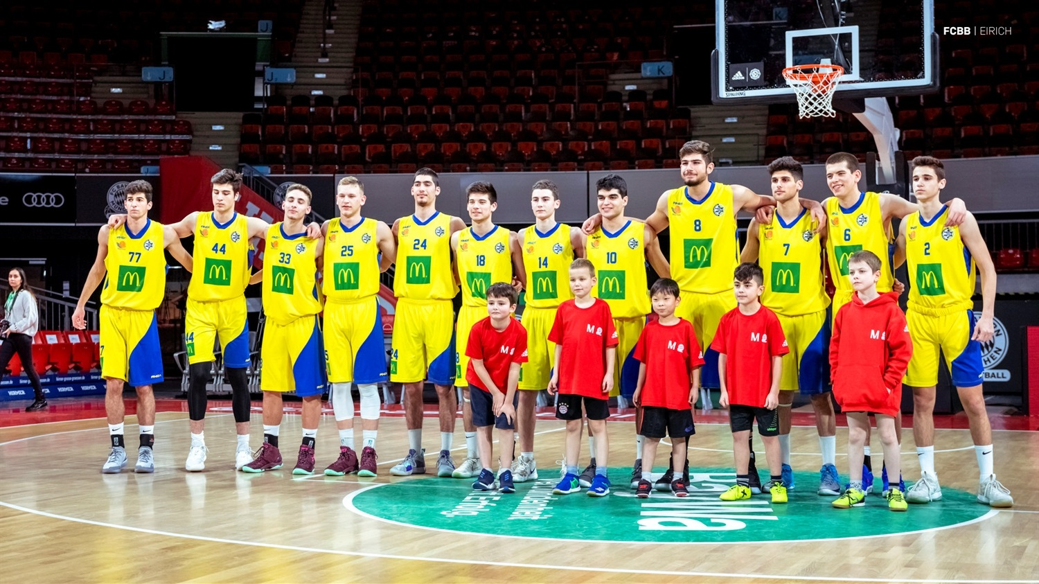 Players U18 Maccabi Teddy Tel Aviv - ANGT Munich 2019 (photo FCBB - Eirich) JT18