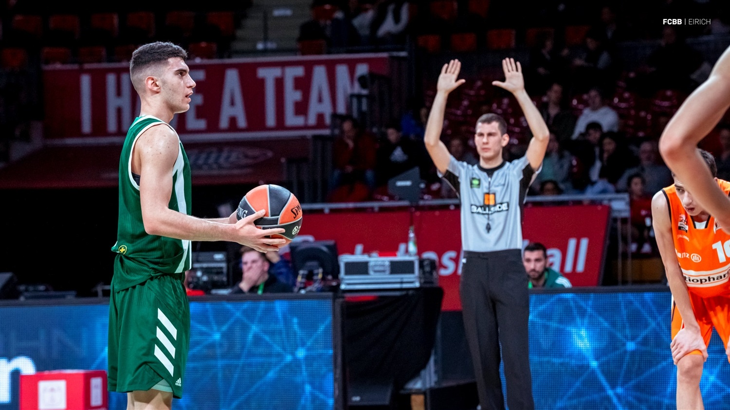 Player U18 Panathinaikos OPAP Athens - ANGT Munich 2019 (photo FCBB - Eirich) JT18