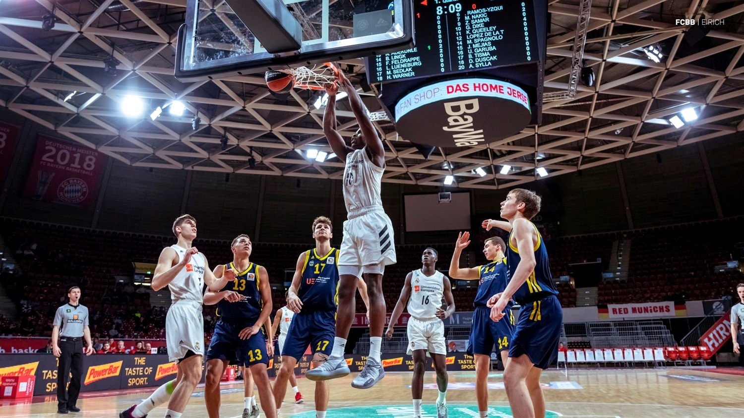 Golden Dike - U18 Real Madrid - ANGT Munich 2019 (photo FCBB - Eirich) JT18