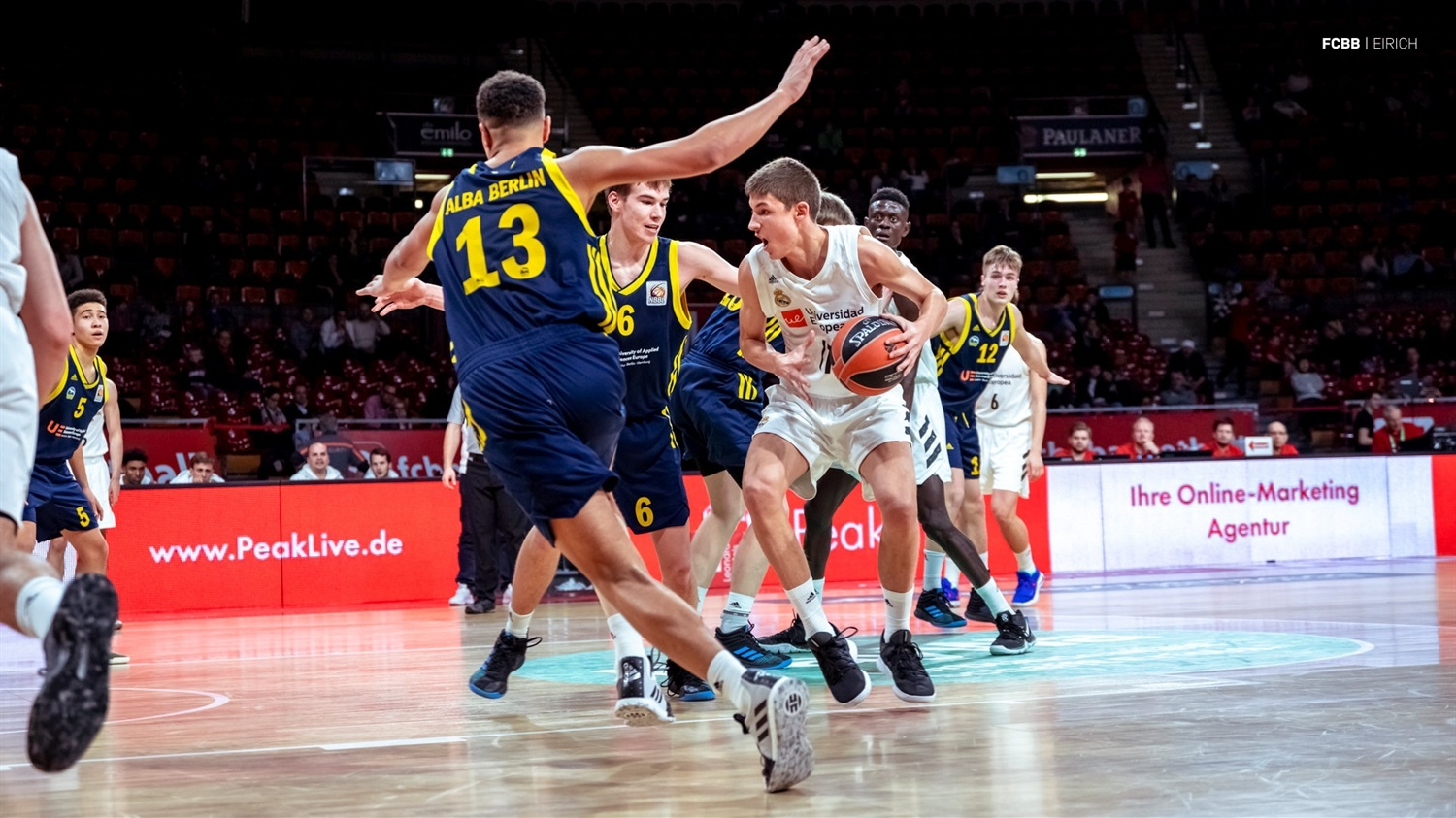 Boris Tisma - U18 Real Madrid - ANGT Munich 2019 (photo FCBB - Eirich) JT18