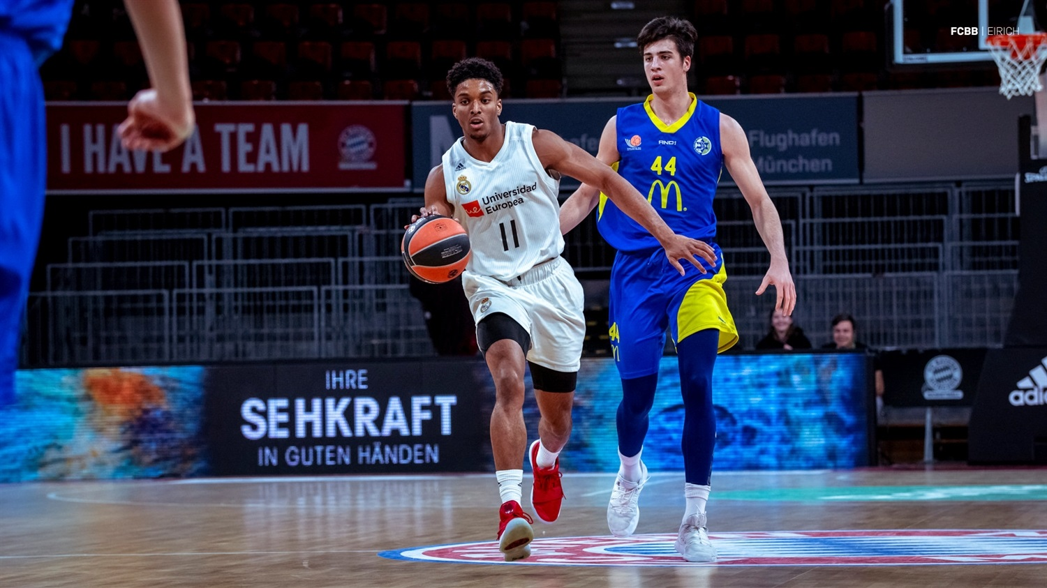 Kareem Queeley - U18 Real Madrid - ANGT Munich 2019 (photo FCBB - Eirich) JT18