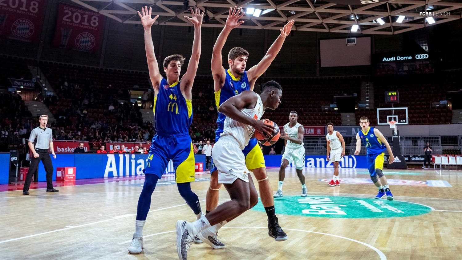 Usman Garuba - U18 Real Madrid - ANGT Munich 2019 (photo FCBB - Eirich) JT18