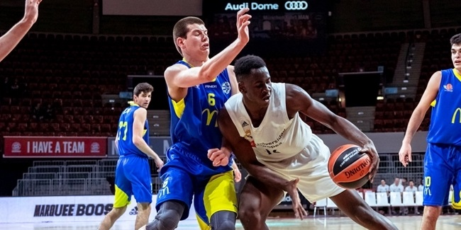 U18 Madrid's Garuba: 'We learn from Doncic'