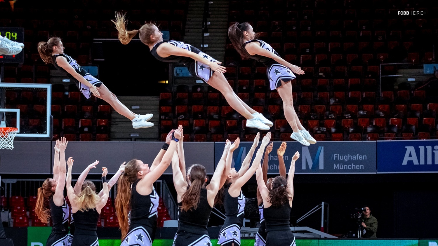 Cheerleaders - ANGT Munich 2019 (photo FCBB - Eirich) JT18