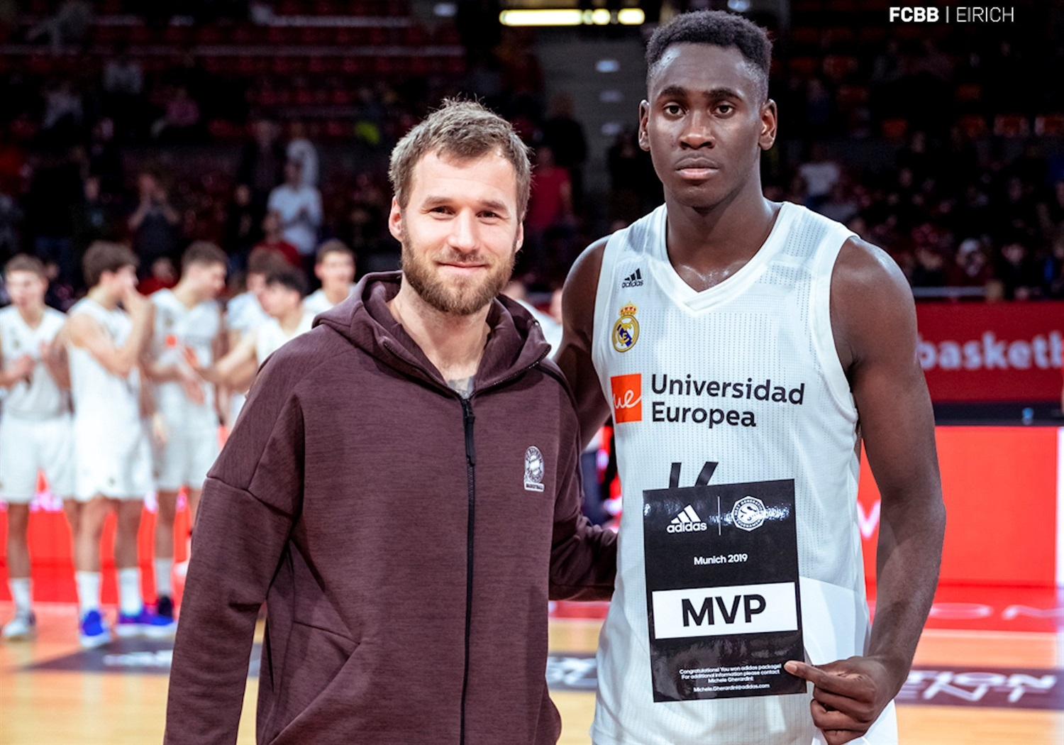 Usman Garuba - U18 Real Madrid - MVP ANGT Munich 2019 (photo FCBB - Eirich) JT18