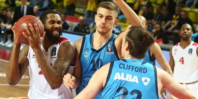 7DAYS EuroCup, Top 16 Round 5: AS Monaco vs. ALBA Berlin