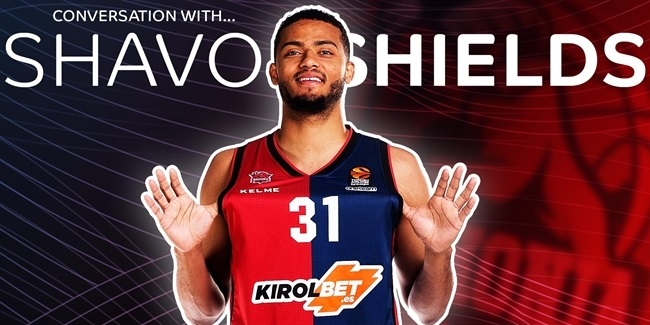 Shavon Shields, Baskonia: 'I always gravitated towards basketball'