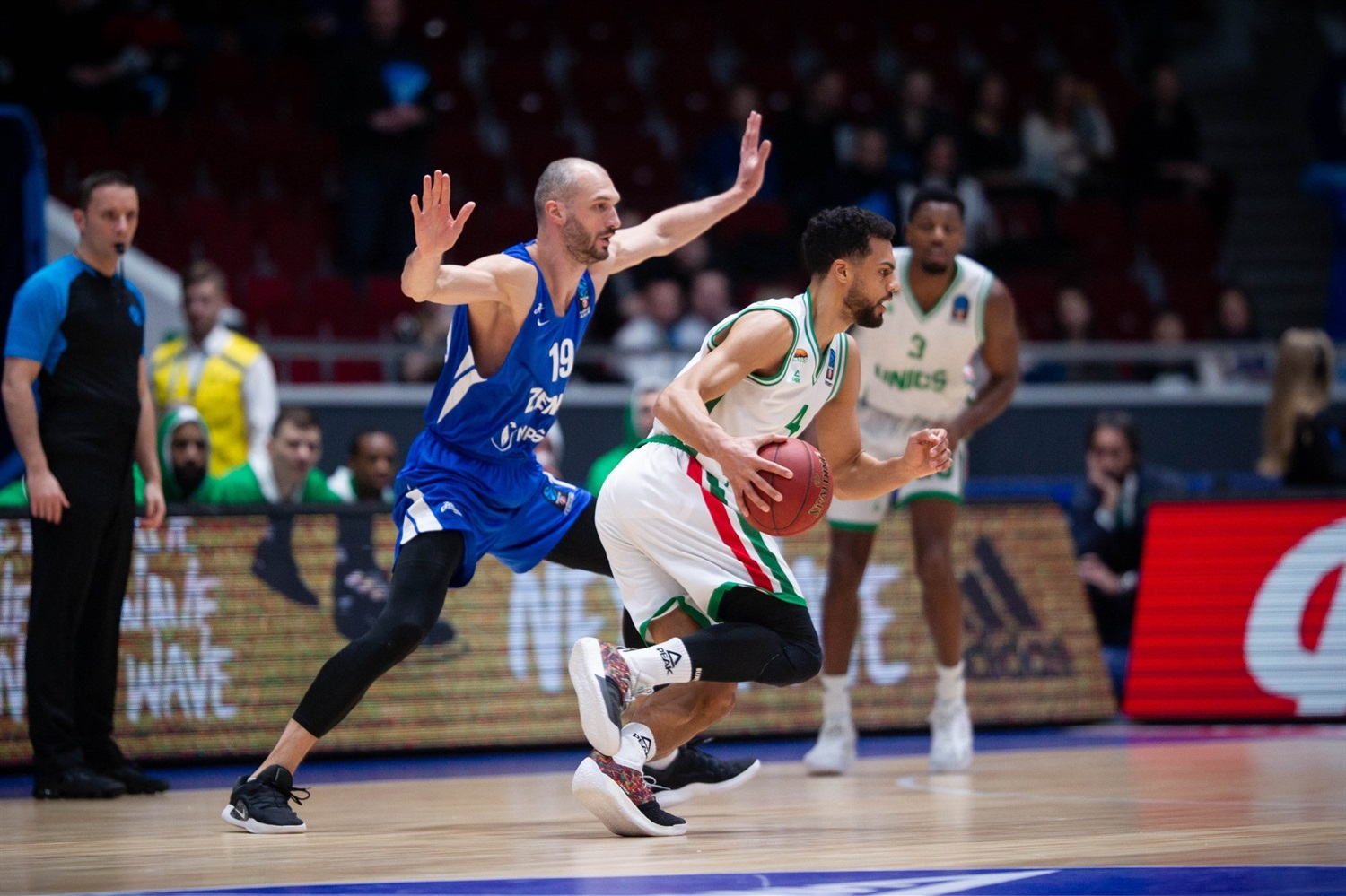 Trent Lockett - UNICS Kazan (photo Zenit) - EC18