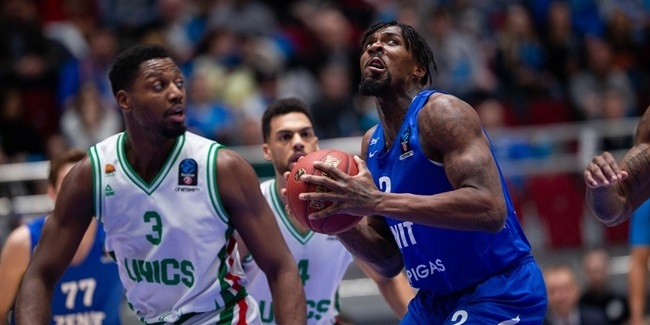 7DAYS EuroCup, Top 16 Round 5: Zenit St Petersburg vs. UNICS Kazan