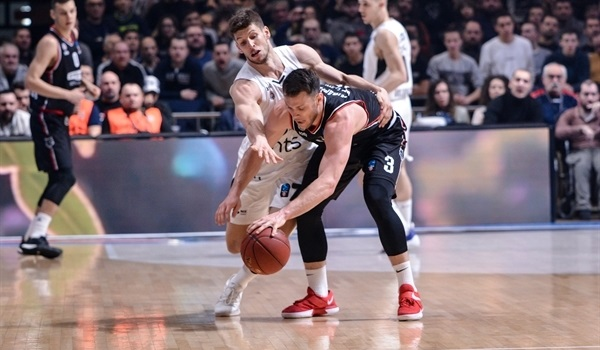 Top 16 Round 5: Parakhouski game-winner saves Rytas