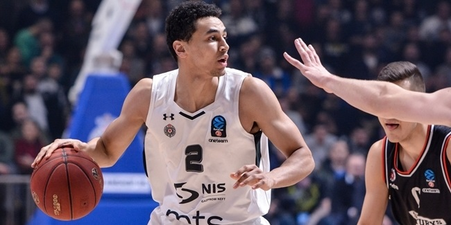 Partizan, Paige pen two-year extension