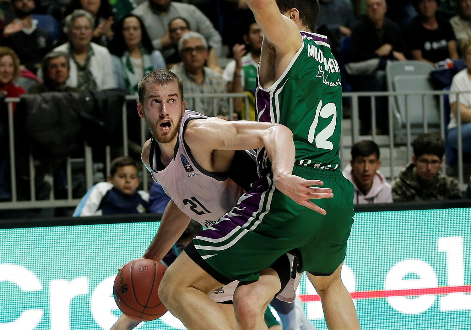 Matt Thomas - Valencia Basket (photo Unicaja - Mariano Pozo) - EC18