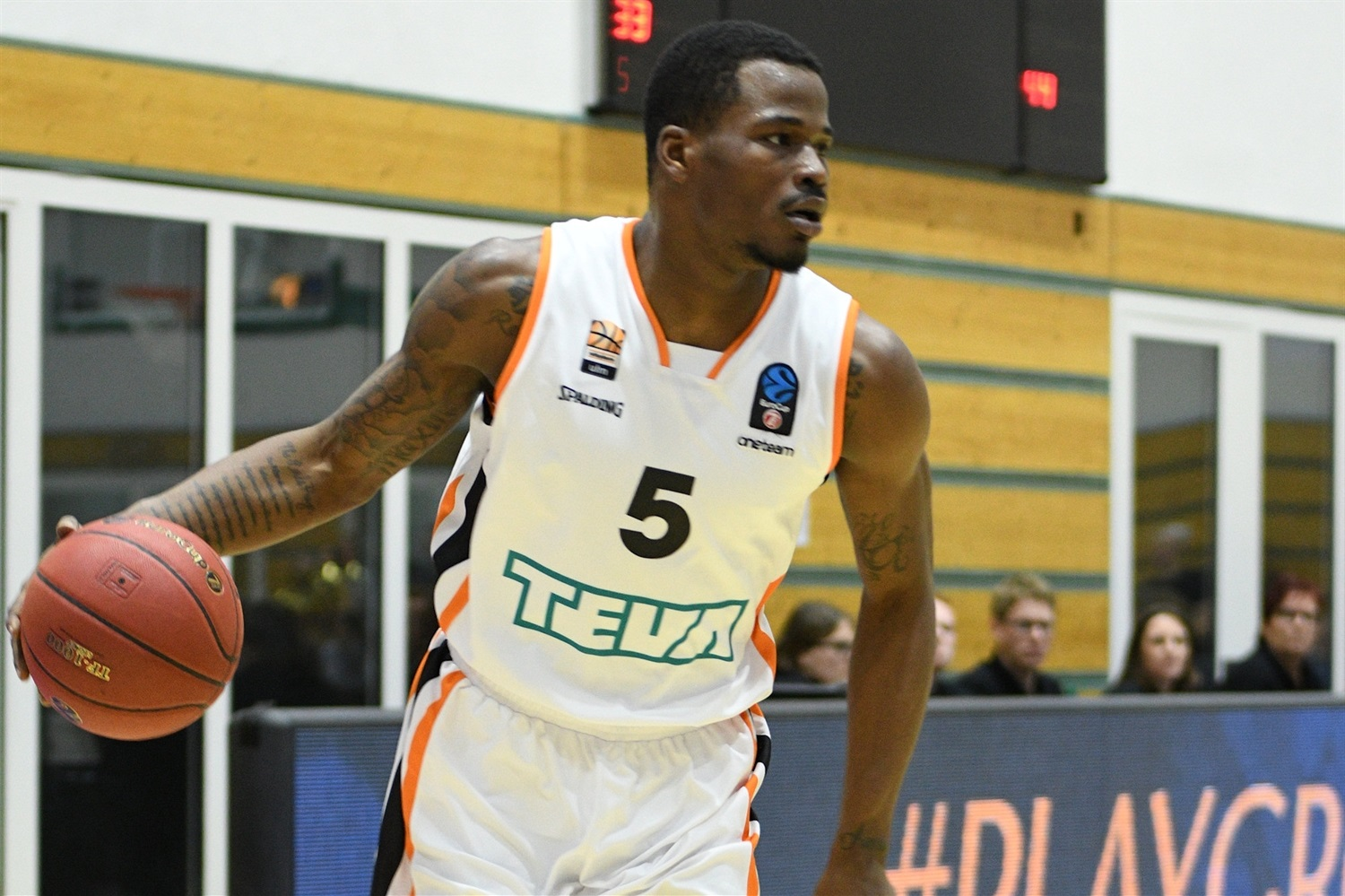 Javonte Green - ratiopharm Ulm (photo Skyliners) - EC18