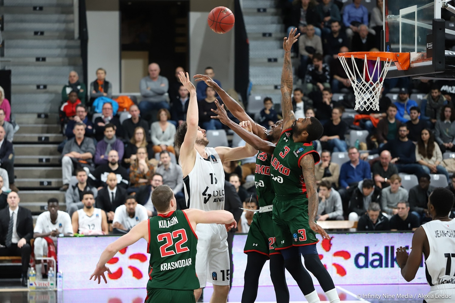 Miro Bilan - LDLC ASVEL Villeurbanne (photo Infinity Nine Media - Alexia Leduc) - EC18