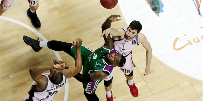 7DAYS EuroCup, Top 16 Round 5: Unicaja Malaga vs. Valencia Basket