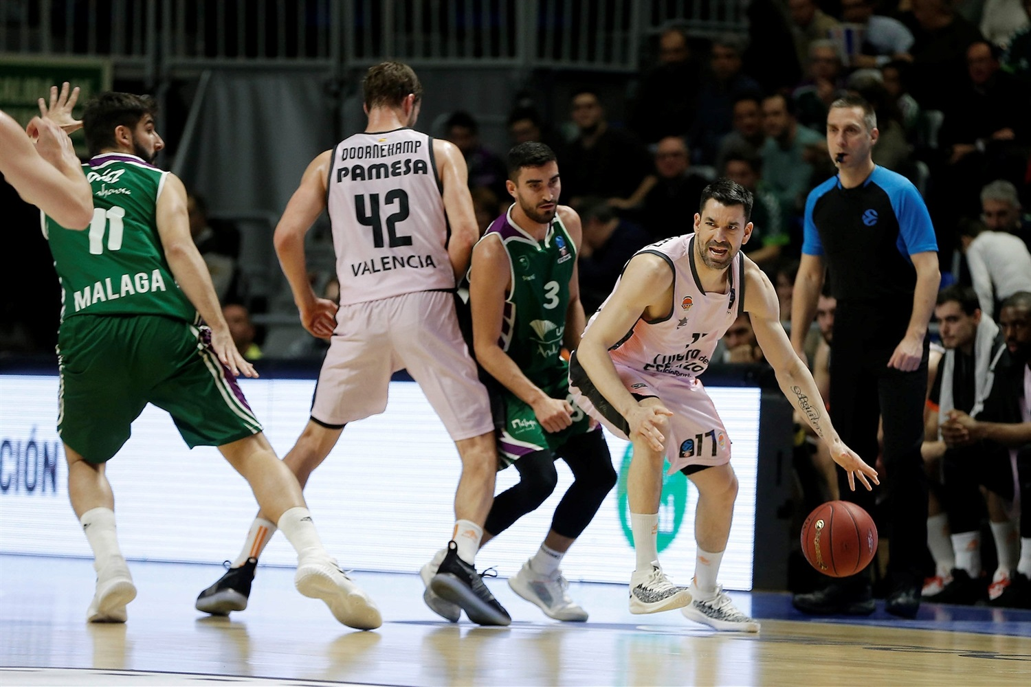 Rafa Martinez - Valencia Basket (photo Unicaja - Mariano Pozo) - EC18