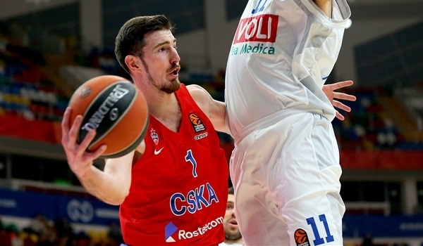RS Round 21 report: De Colo leads CSKA past Buducnost