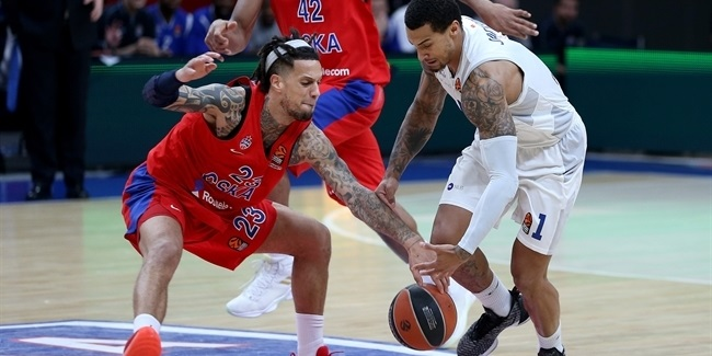 CSKA, Hackett took their revenge over Buducnost