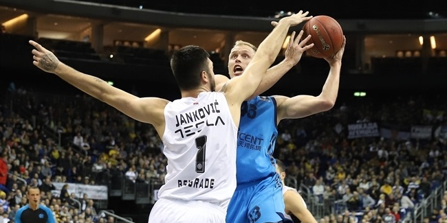 7DAYS EuroCup, Top 16 Round 6: ALBA Berlin vs. Partizan NIS Belgrade