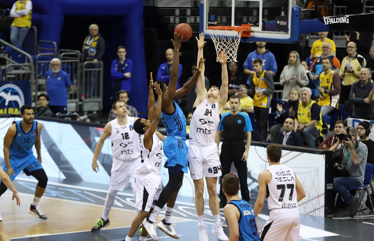 Landry Nnoko - ALBA Berlin (photo Andreas Knopf - ALBA) - EC18