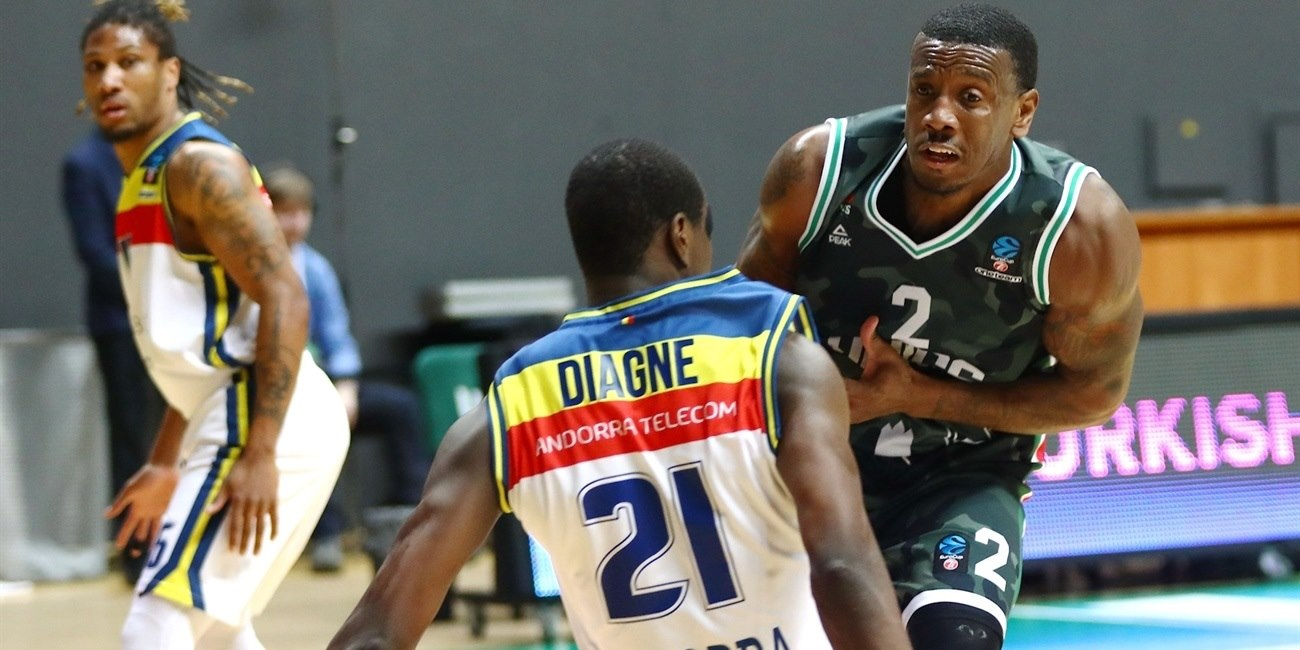 Raymar Morgan - UNICS Kazan (photo UNICS) - EC18