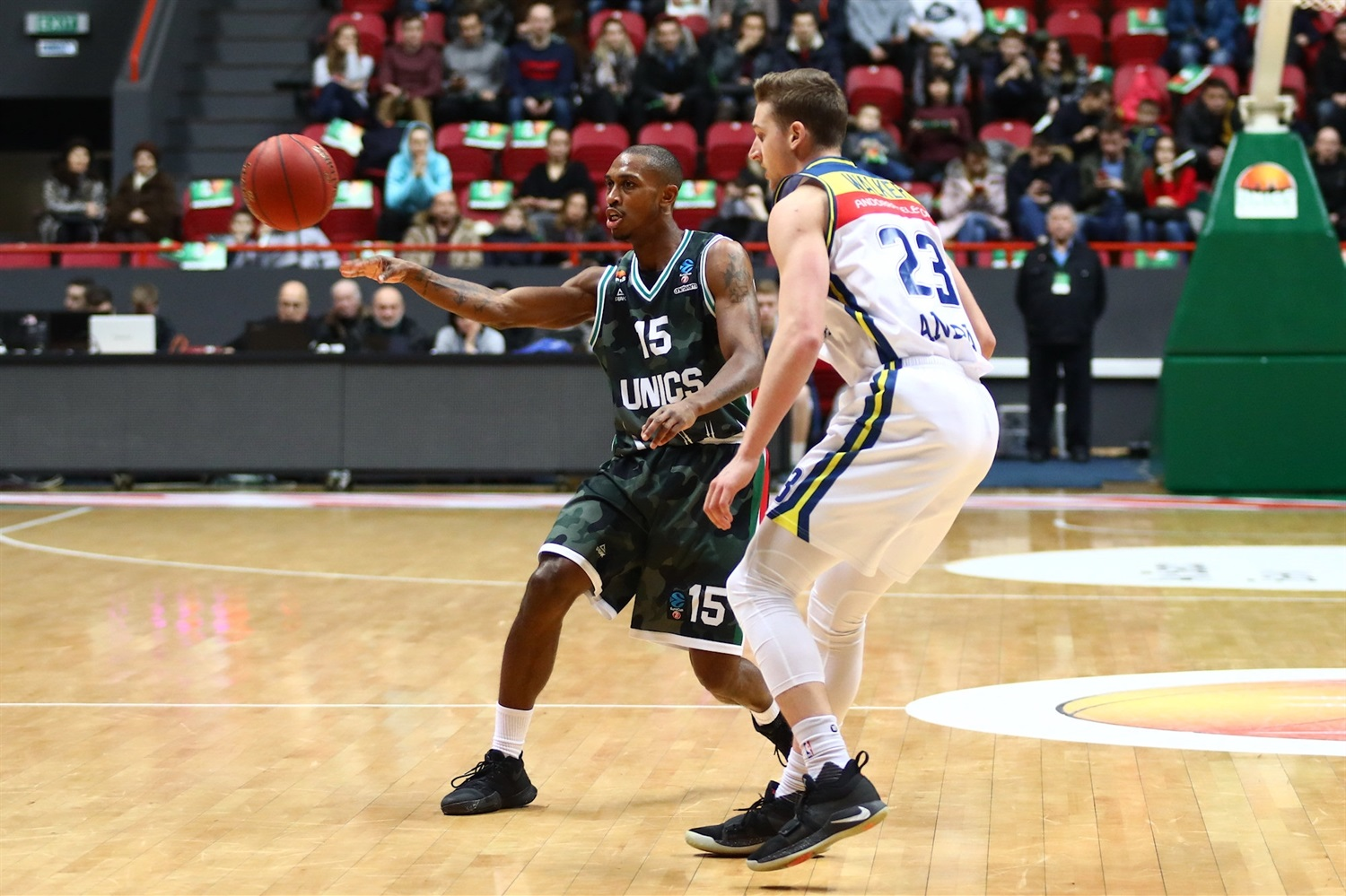 Jamar Smith - UNICS Kazan (photo UNICS) - EC18