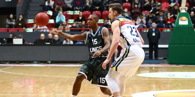 7DAYS EuroCup, Top 16 Round 6: UNICS Kazan vs. MoraBanc Andorra