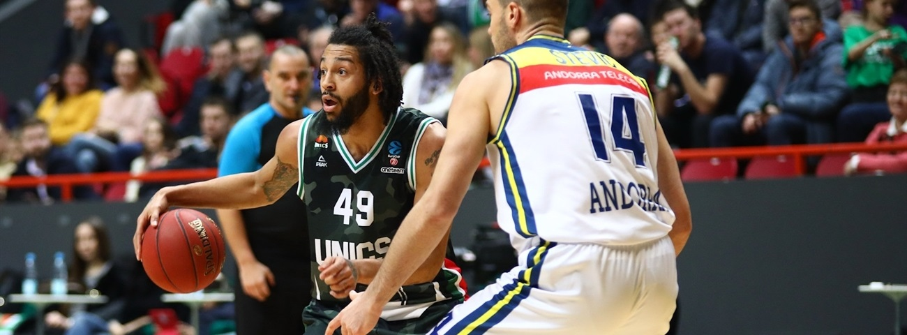 Shut-down defense lifts UNICS to group top
