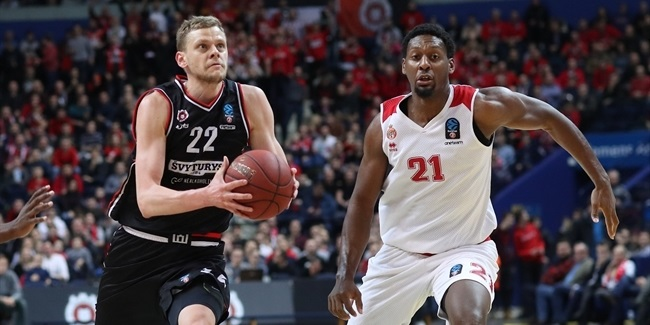 7DAYS EuroCup, Top 16 Round 6: Rytas Vilnius vs. AS Monaco