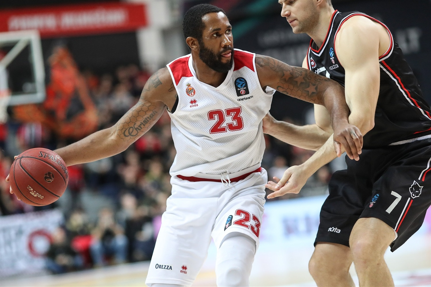 Eric Buckner - AS Monaco (photo Rytas) - EC18