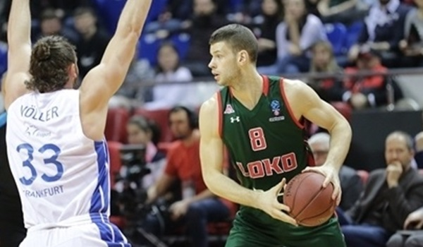Top 16 Round 6: Lokomotiv runs away from Skyliners, 84-58