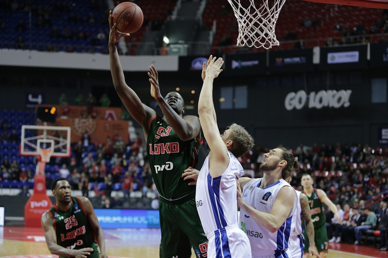 Moustapha Fall - Lokomotiv Kuban Krasnodar (photo Lokomotiv) - EC18