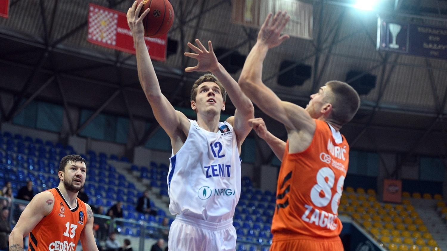 Sergei Balashov - Zenit St Petersburg (photo Cedevita) - EC18