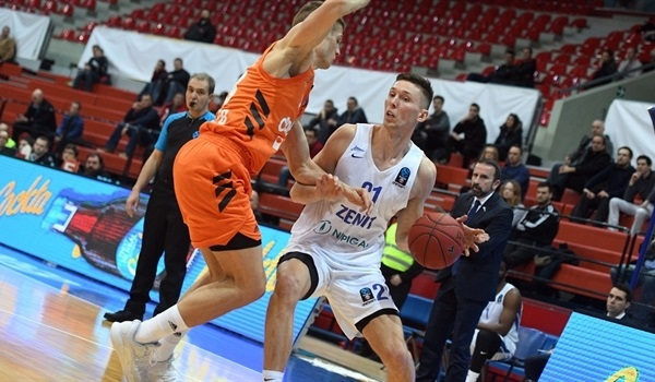 Top 16 Round 6: Zenit rallies to edge Cedevita
