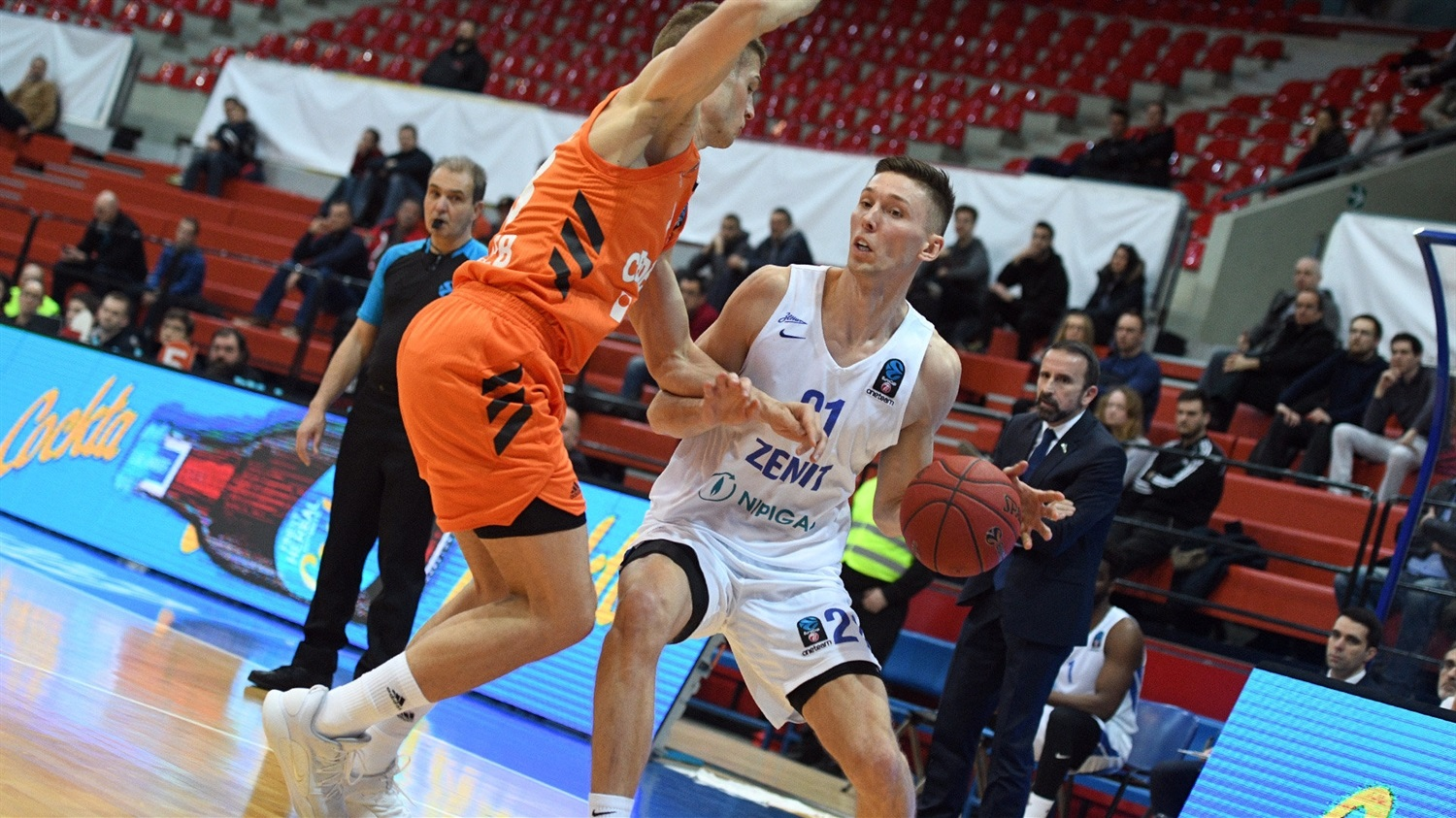 Jarrod Uthoff - Zenit St Petersburg (photo Cedevita) - EC18