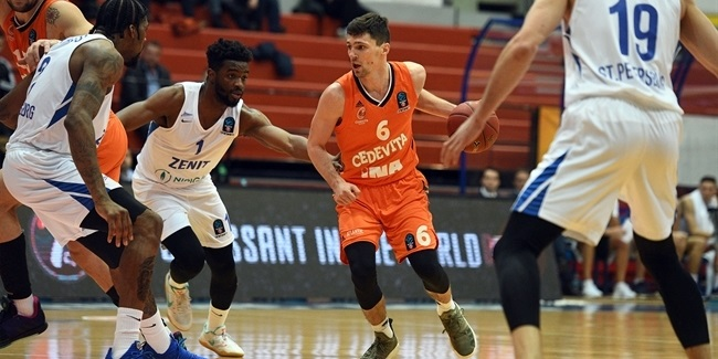 7DAYS EuroCup, Top 16 Round 6: Cedevita Zagreb vs. Zenit St Petersburg