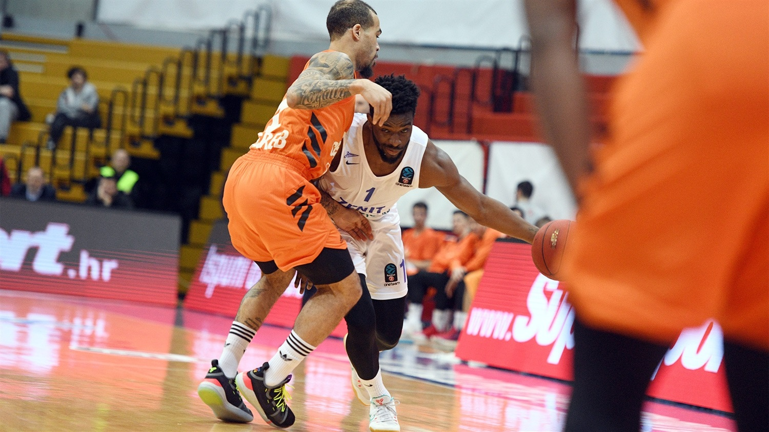 Sean Armand - Zenit St Petersburg (photo Cedevita) - EC18