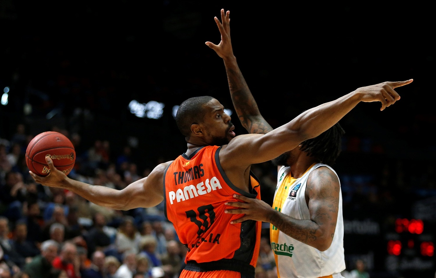 Will Thomas - Valencia Basket (photo Valencia) - EC18