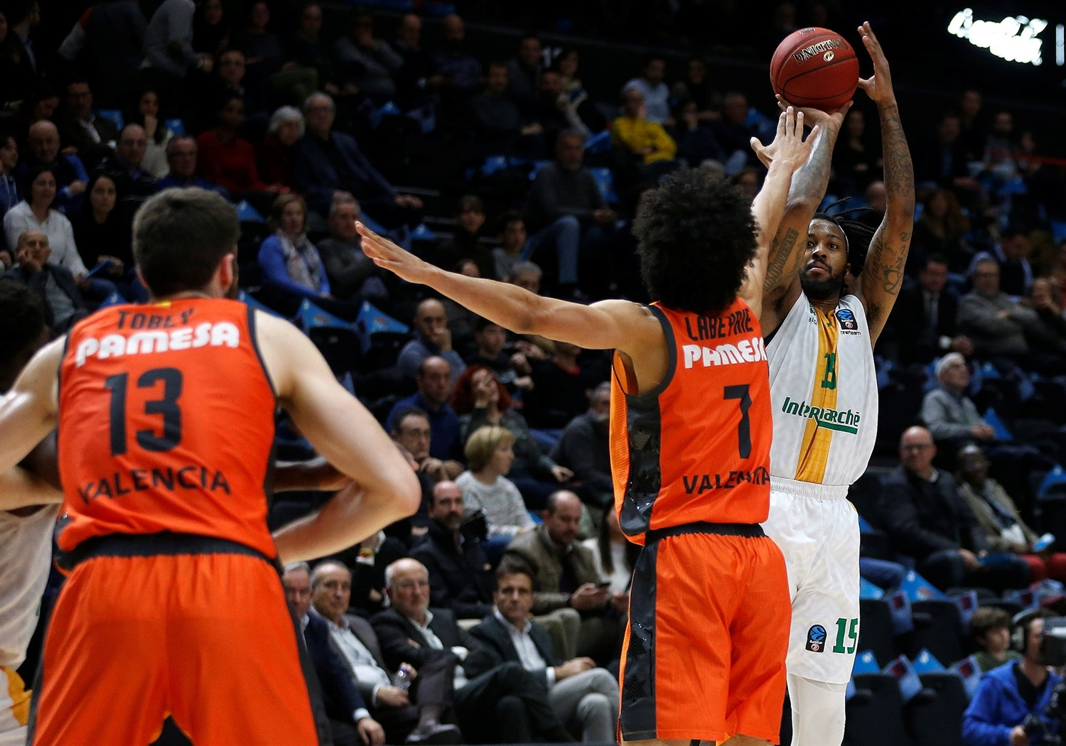 Isaiah Miles - Limoges CSP (photo Valencia) - EC18