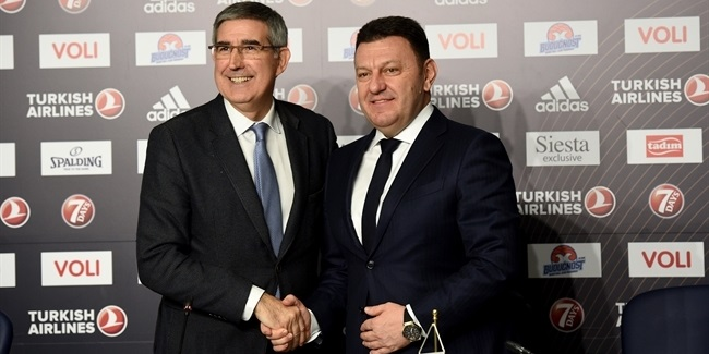 Bertomeu marks Buducnost return at press conference