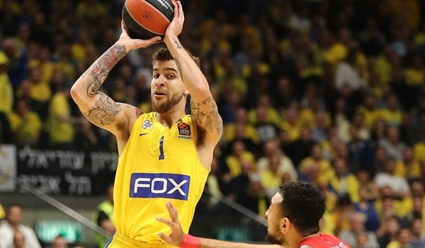 RS Round 22 report: Maccabi outlasts Olympiacos